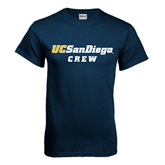 Navy T Shirt-Crew