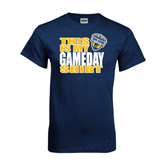 Navy T Shirt-UC San Diego Game Day
