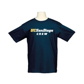 Youth Navy T Shirt-Crew