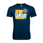Next Level SoftStyle Navy T Shirt-UC San Diego Game Day