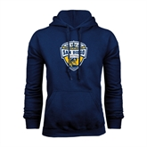 Navy Fleece Hood-UC San Diego Crest