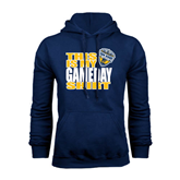 Navy Fleece Hoodie-UC San Diego Game Day