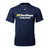 Under Armour Navy Tech Tee-Fencing