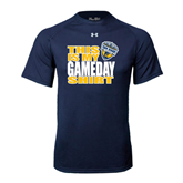 Under Armour Navy Tech Tee-UC San Diego Game Day