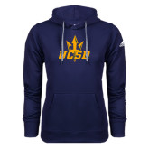 Adidas Climawarm Navy Team Issue Hoodie-UCSD w/ Trident