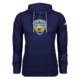 Adidas Climawarm Navy Team Issue Hoodie-UC San Diego Crest
