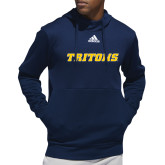 Adidas Navy Team Issue Hoodie-Tritons Wordmark