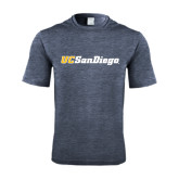 Performance Navy Heather Contender Tee-UC San Diego