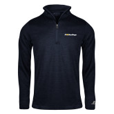 Russell Navy Heather 1/4 Zip-UC San Diego Primary Mark