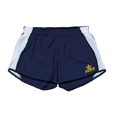 Ladies Navy/White Team Short-UCSD w/Trident