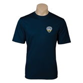 Syntrel Performance Navy Tee-UC San Diego Crest