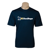 Syntrel Performance Navy Tee-Official Logo w/UC San Diego