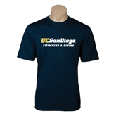 Performance Navy Tee-Swimming & Diving