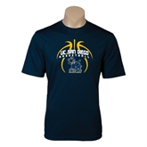 Performance Navy Tee-Graphics in Ball