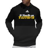 Adidas Black Team Issue Hoodie-UC San Diego Tritons Mark