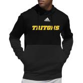 Adidas Black Team Issue Hoodie-Tritons Wordmark