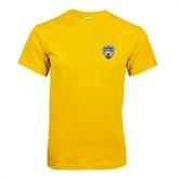 Gold T Shirt-UC San Diego Crest