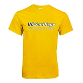 Gold T Shirt-Swimming & Diving