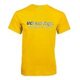 Gold T Shirt-Swimming & Diving
