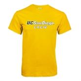 Gold T Shirt-Crew