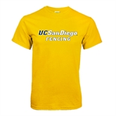 Gold T Shirt-Fencing