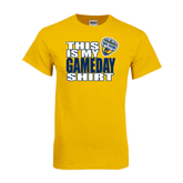 Gold T Shirt-UC San Diego Game Day