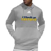 Adidas Grey Team Issue Hoodie-UC San Diego Tritons Mark