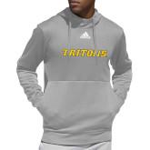 Adidas Grey Team Issue Hoodie-Tritons Wordmark