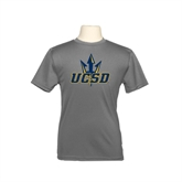 Youth Syntrel Performance Steel Training Tee-UCSD w/Trident