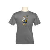 Youth Syntrel Performance Steel Training Tee-Youth Triton Logo