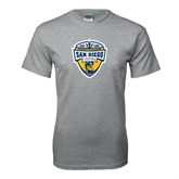 Grey T Shirt-UC San Diego Crest