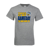 Grey T Shirt-UC San Diego Game Day
