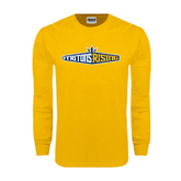 Gold Long Sleeve T Shirt-Tritons Rising
