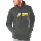 Under Armour Carbon Armour Fleece Hoodie-UC San Diego Tritons Mark