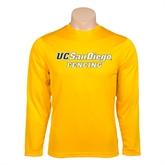 Performance Gold Longsleeve Shirt-Fencing