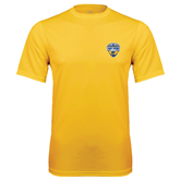 Performance Gold Tee-UC San Diego Crest
