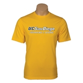 Performance Gold Tee-Swimming & Diving