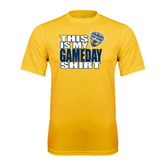 Performance Gold Tee-UC San Diego Game Day