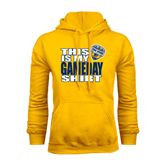 Gold Fleece Hoodie-UC San Diego Game Day