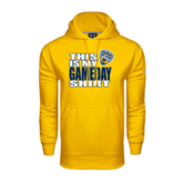Under Armour Gold Performance Sweats Team Hoodie-UC San Diego Game Day