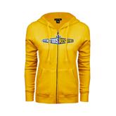 ENZA Ladies Gold Fleece Full Zip Hoodie-Tritons Rising