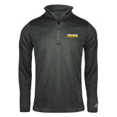 Russell Charcoal Heather 1/4 Zip-UC San Diego Tritons Mark