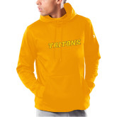 Under Armour Gold Armour Fleece Hoodie-Tritons Wordmark