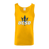 Gold Tank Top-UCSD w/Trident