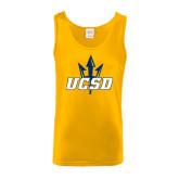 Gold Tank Top-UCSD w/Trident