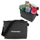 Six Pack Grey Cooler-UC San Diego Primary Mark