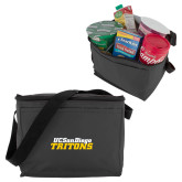 Six Pack Grey Cooler-UC San Diego Tritons Mark