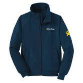 Navy Charger Jacket-UC San Diego Wordmark