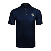 Navy Easycare Pique Polo w/ Pocket-UC San Diego Crest