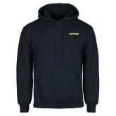 Navy Fleece Hoodie-Tritons Wordmark